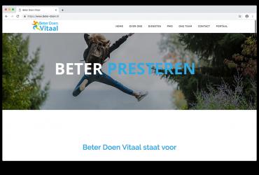 Website Beter Doen Vitaal