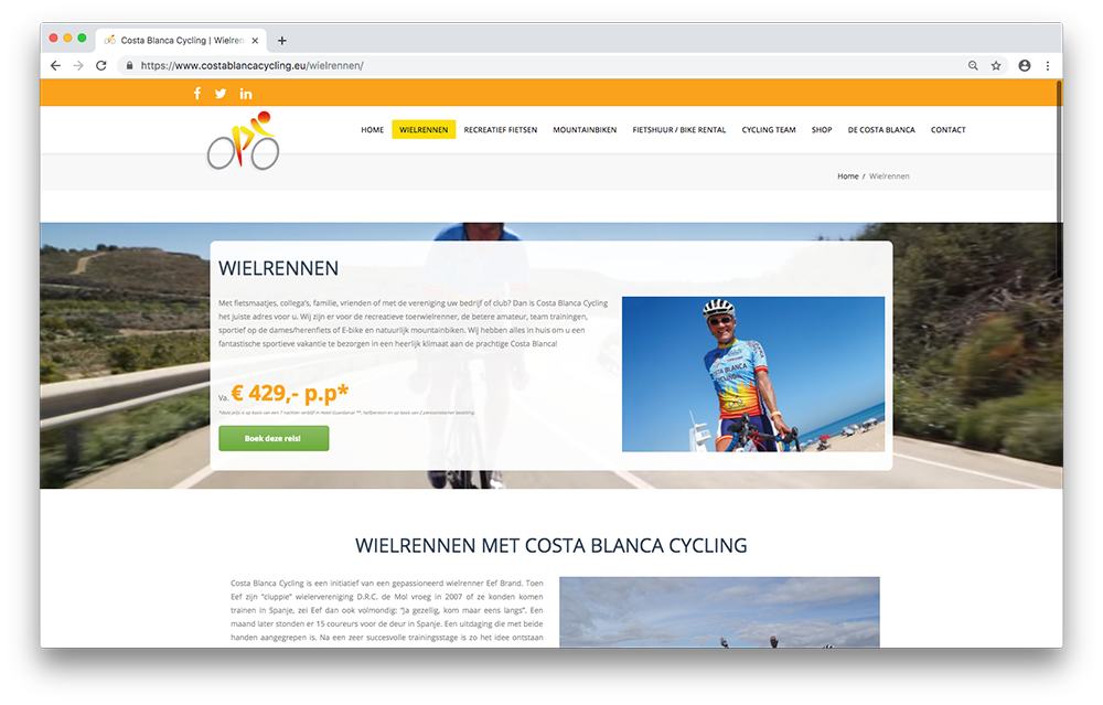 Costa Blanca Cycling