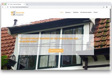 Website Noorman Kozijnen