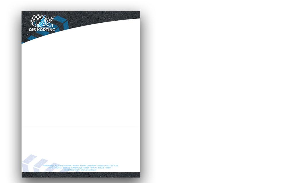 Briefpapier A15 Karting Gorinchem